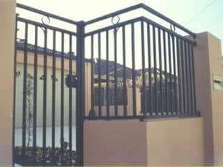 20x20mm Square Tube Security Gate And Fence In North Perth