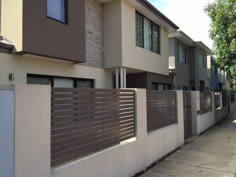 Ali Slat Infill Fence Perth