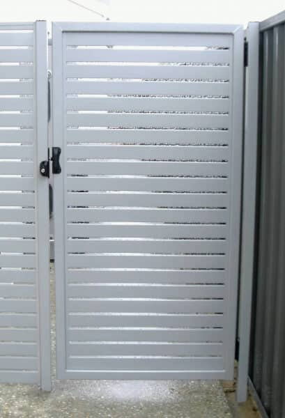 Aluminium Slat Gate And Panel Tuart Hill