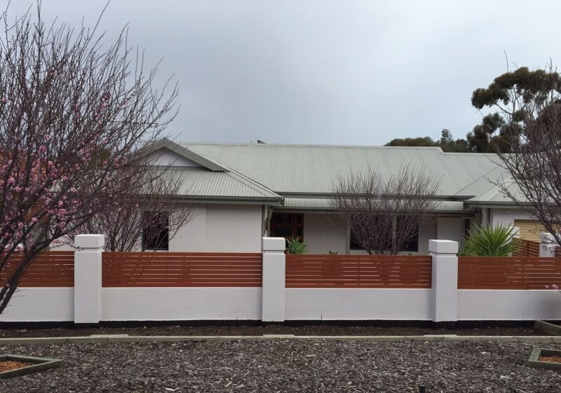 Aluminium Slat Screen Fence Melville