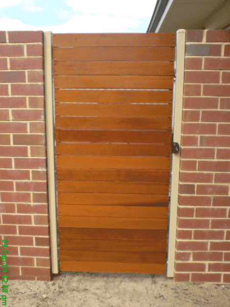 Cedar Timber Slat Gate East Vic Park