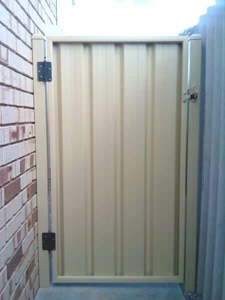 Large Sliding Fence Gate