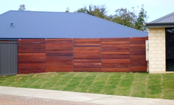 Dressed Jarrah Gates And Panels In Baldivis