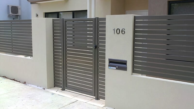 Jasper Aluminum Slat Gate East Vic Park