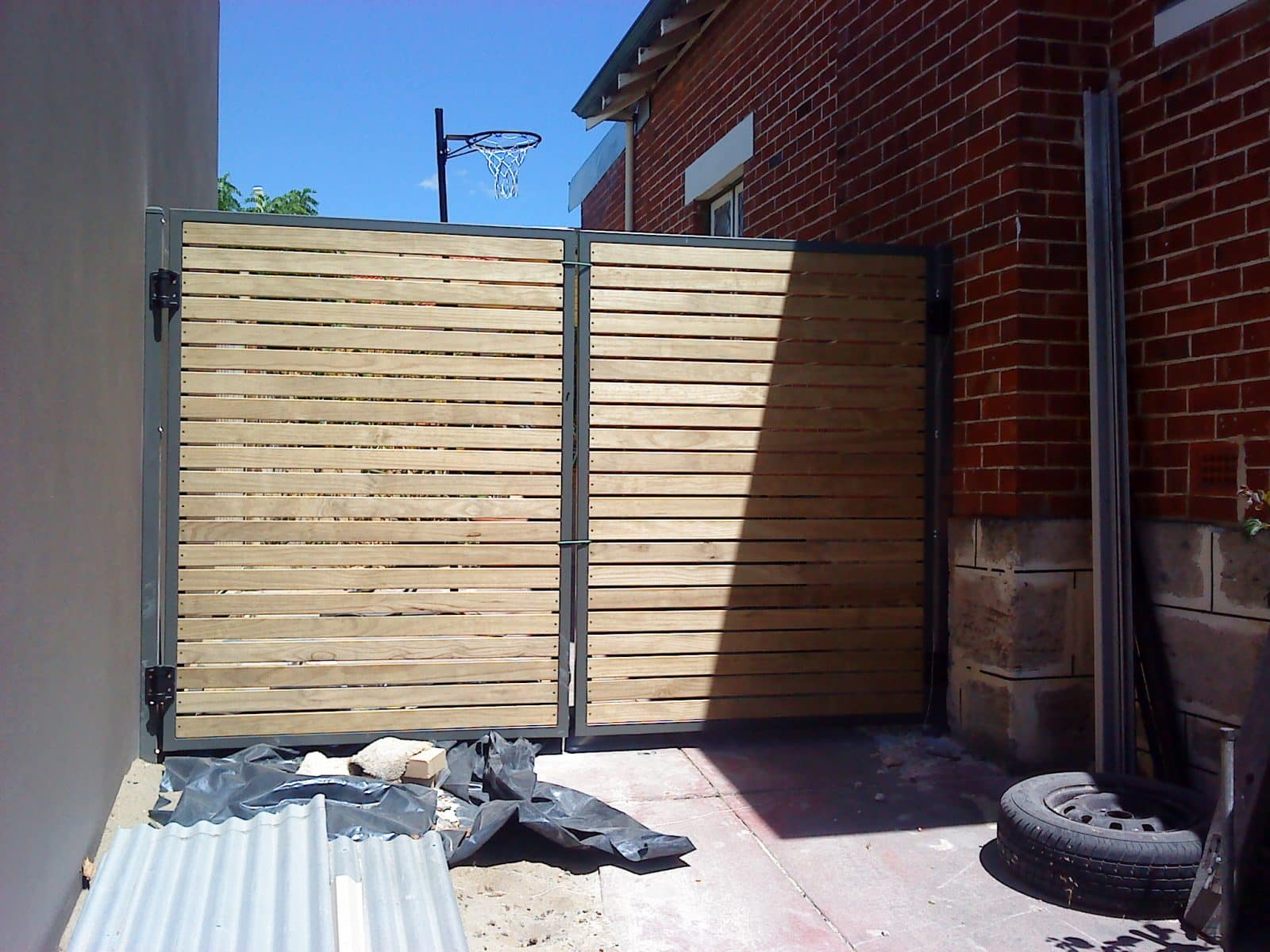 Pine Slat Gate Perth
