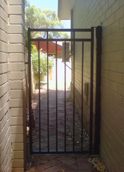 Powdercoated Tube Steel Gate Floreat