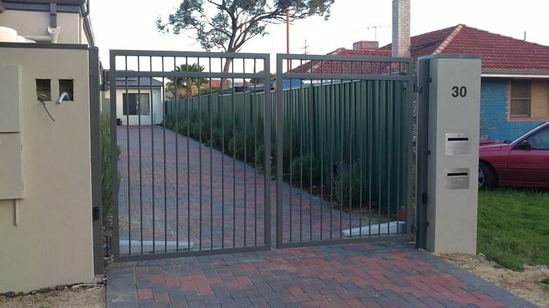 Remote Controlled Driveway Gates