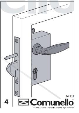 Sliding Gate Lock – Comunello Parrot Beak