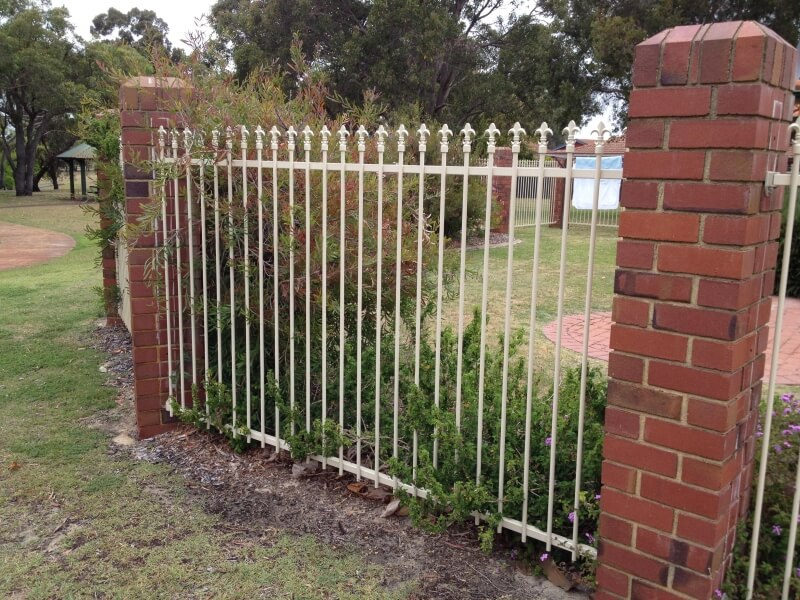 Steel Fence Willetton