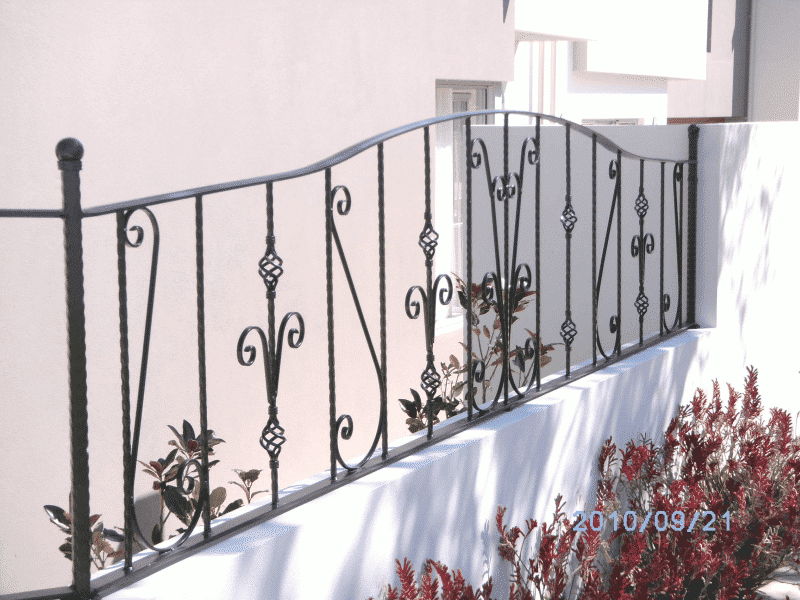 Wrought Iron Front Fence In Nedlands2
