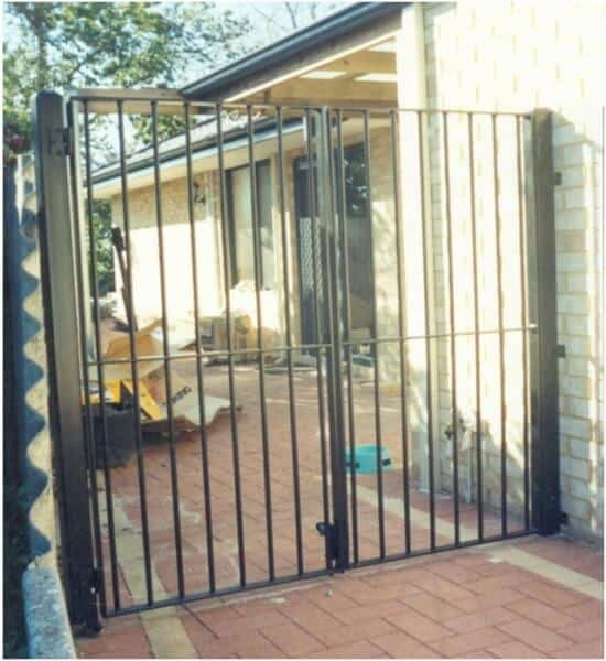 Wrought Iron Gates In Bentley