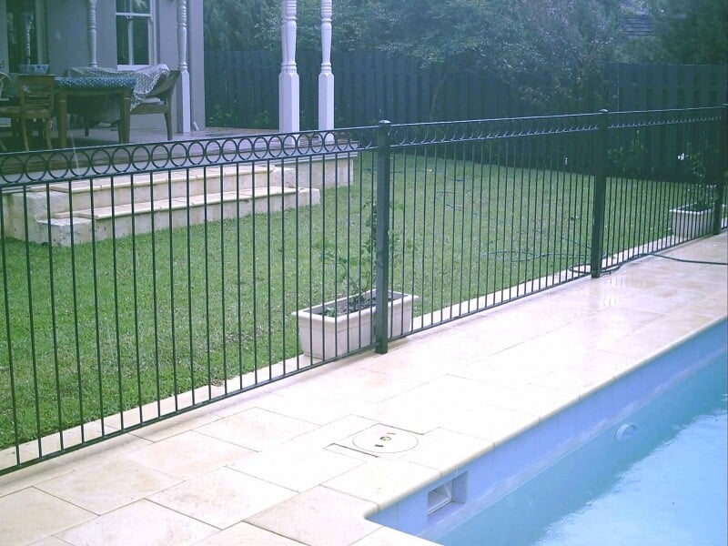 Wrought Iron Pool Fencing In Mosman Park