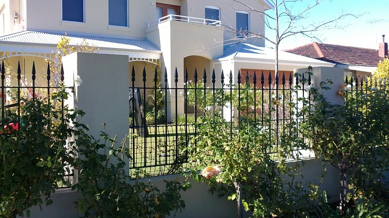 Wrought Iron Spear Panels In Floreat