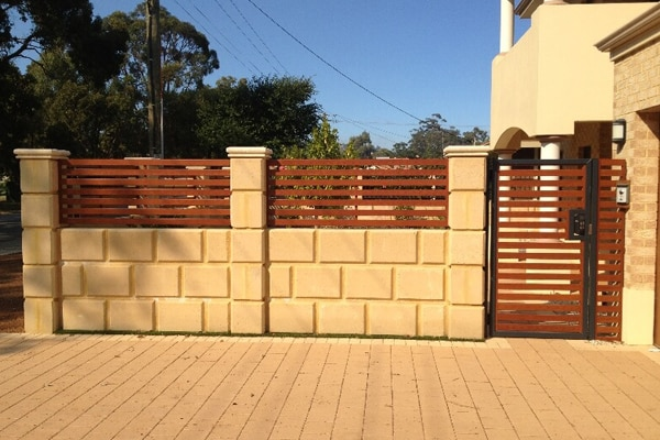 Aluminium gates and fence perth