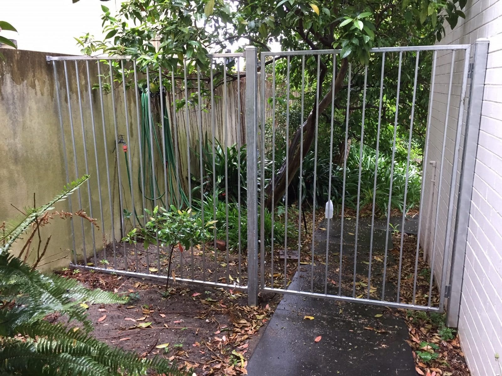 Wrought iron gate hot dipped 12x12mm square bar South Perth
