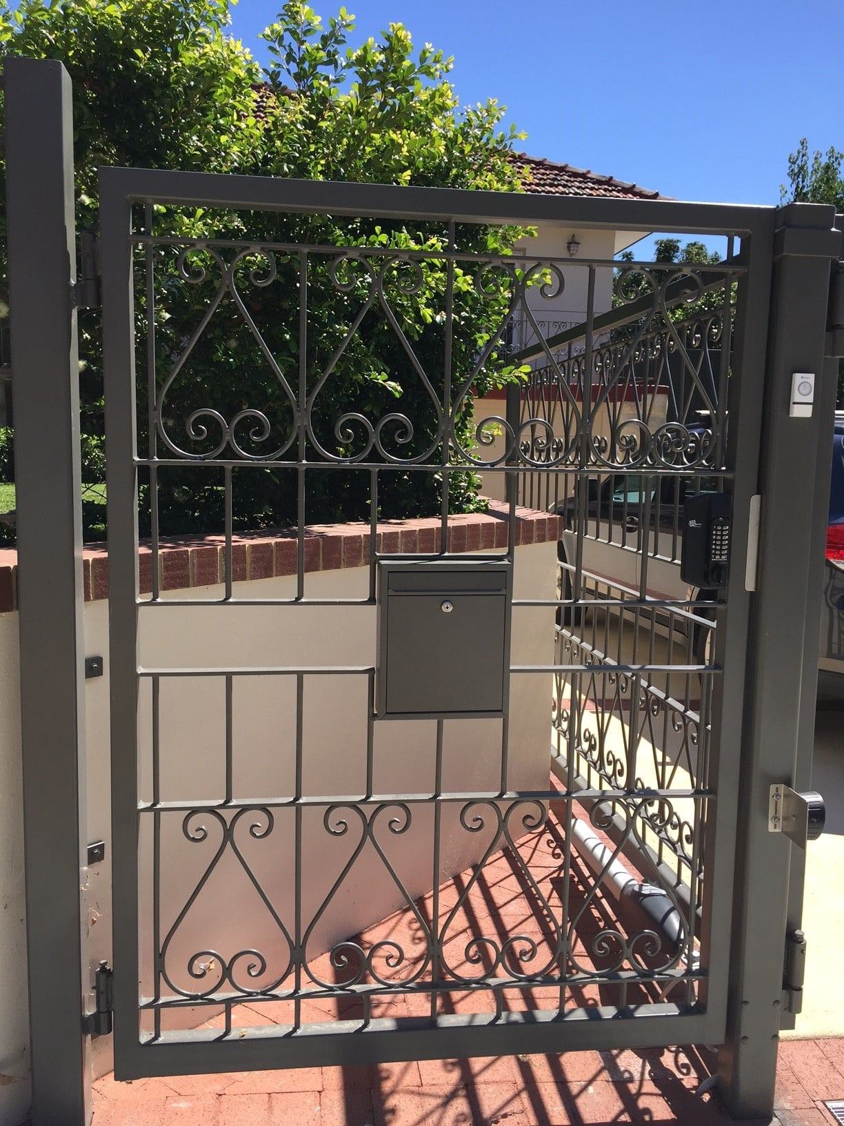 Wrought Iron Gate Perth Mount Lawley