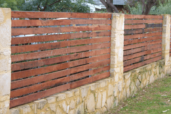 wooden fences perth