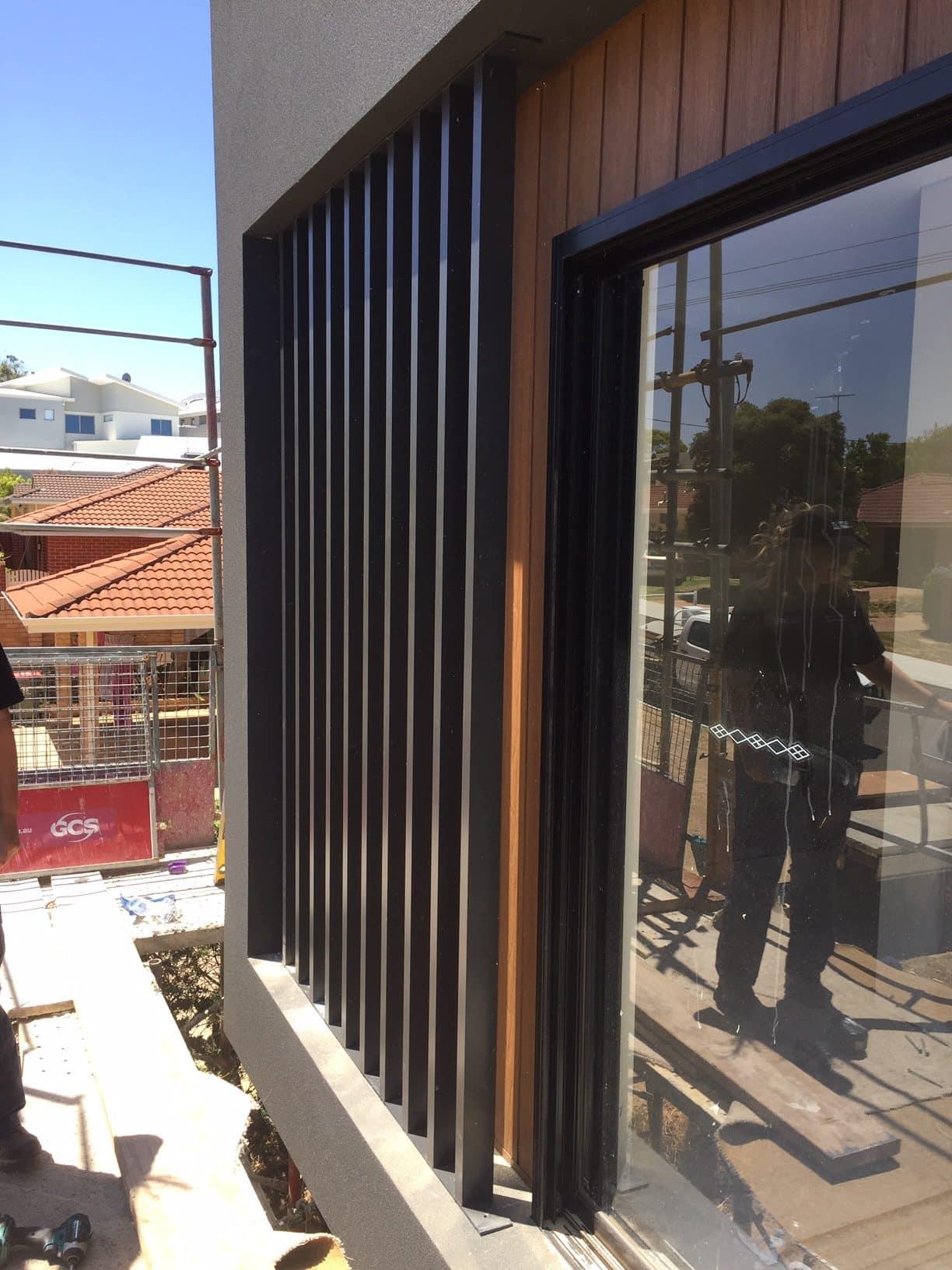 Aluminium Balcony Screen Scarborough