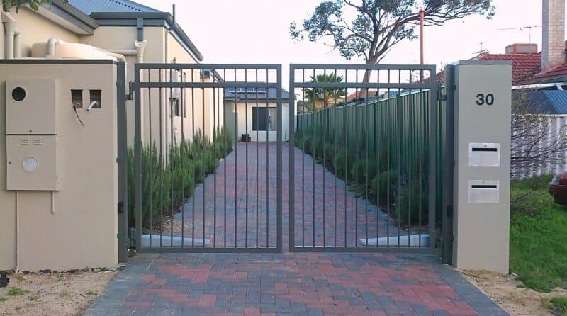 Aluminium Motorised Driveway Gates Balga