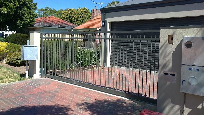Automated Aluminium Sliding Gate Balga