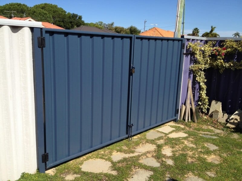 Colorbond Fencing Amp Gates Perth Auswest Fencing