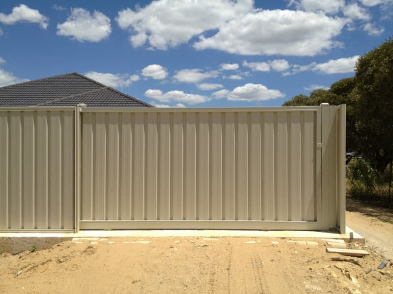Colorbond Fencing & Gates Perth| Auswest Fencing