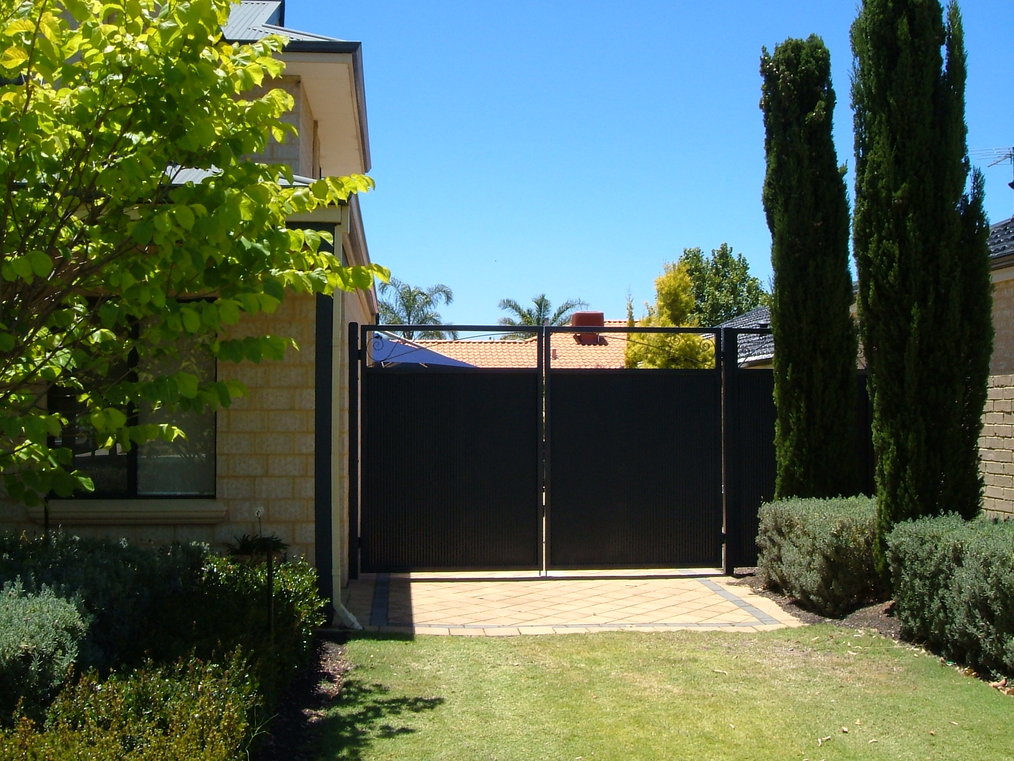 Colorbonded Sheeted Gates Perth