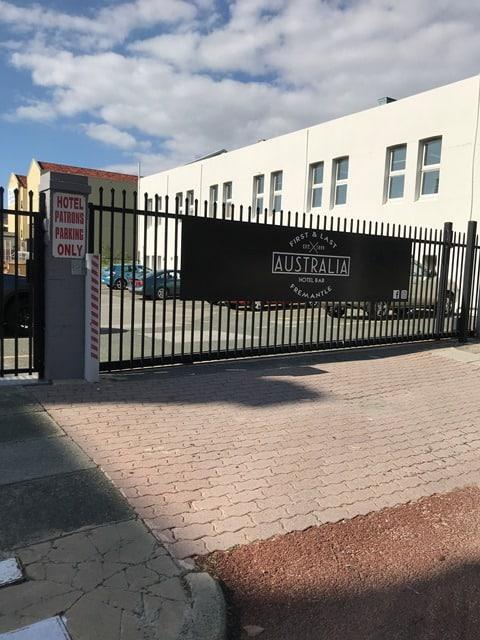 Garrison Sliding Gate Fremantle