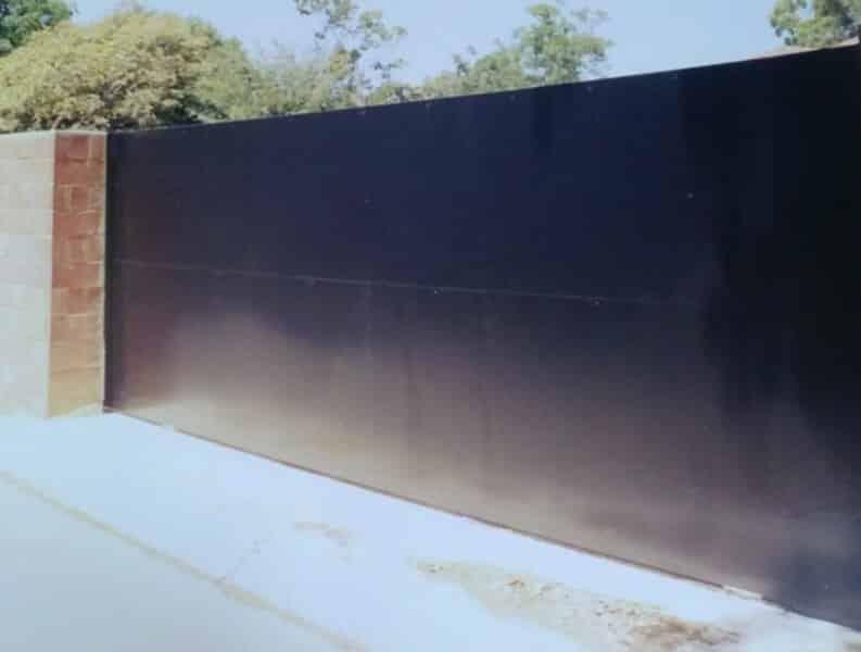 Sliding Colorbond Gate, Mosman Park