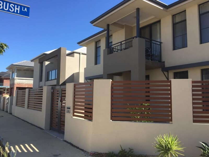 Western Red Cedar Ali Slat Infill Panels Churchlands