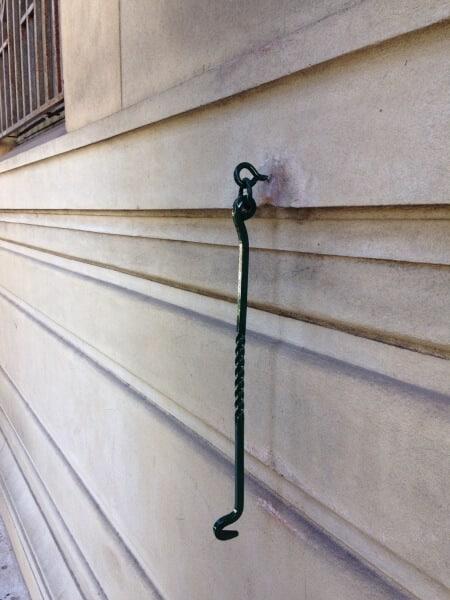 Wrought Iron Door Stopper