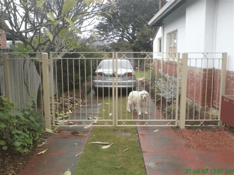 Wrought Iron Driveway Gates In Bicton