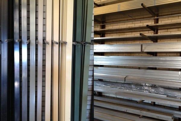 Steel Tubing Powdercoated Posts