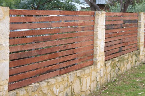 wooden fences perth
