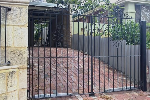 wrought iron gates perth