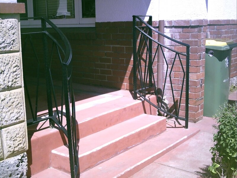 Wrought Iron Hand Rail East Vic Park