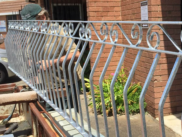 Wrought Iron Fence Perth Installation
